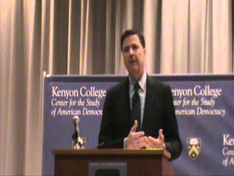 FBI Director James Comey Speech At Kenyon College