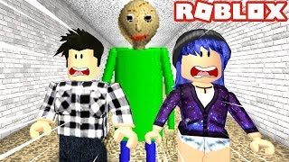 THE WORST TEACHER IN THE WORLD! Roblox Baldi's Basics