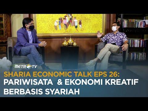 SHARIA ECONOMIC TALK EPS 26: PARIWISATA DAN EKONOMI KREATIF BERBASIS SYARIAH