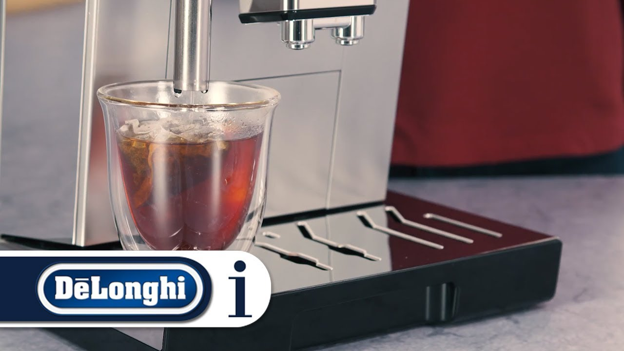 How To Use The Tea Function On Your Delonghi Primadonna Class Ecam 55075ms