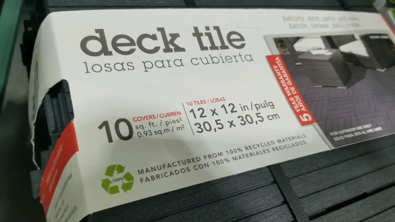 costco outdoor interlocking deck tile 12 x 12 10 pack 19