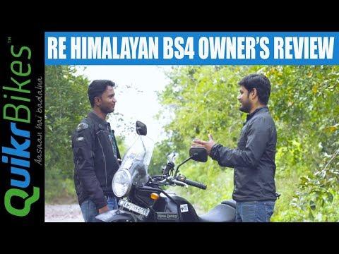Royal Enfield Himalayan BS4 Long Term Ownership Review