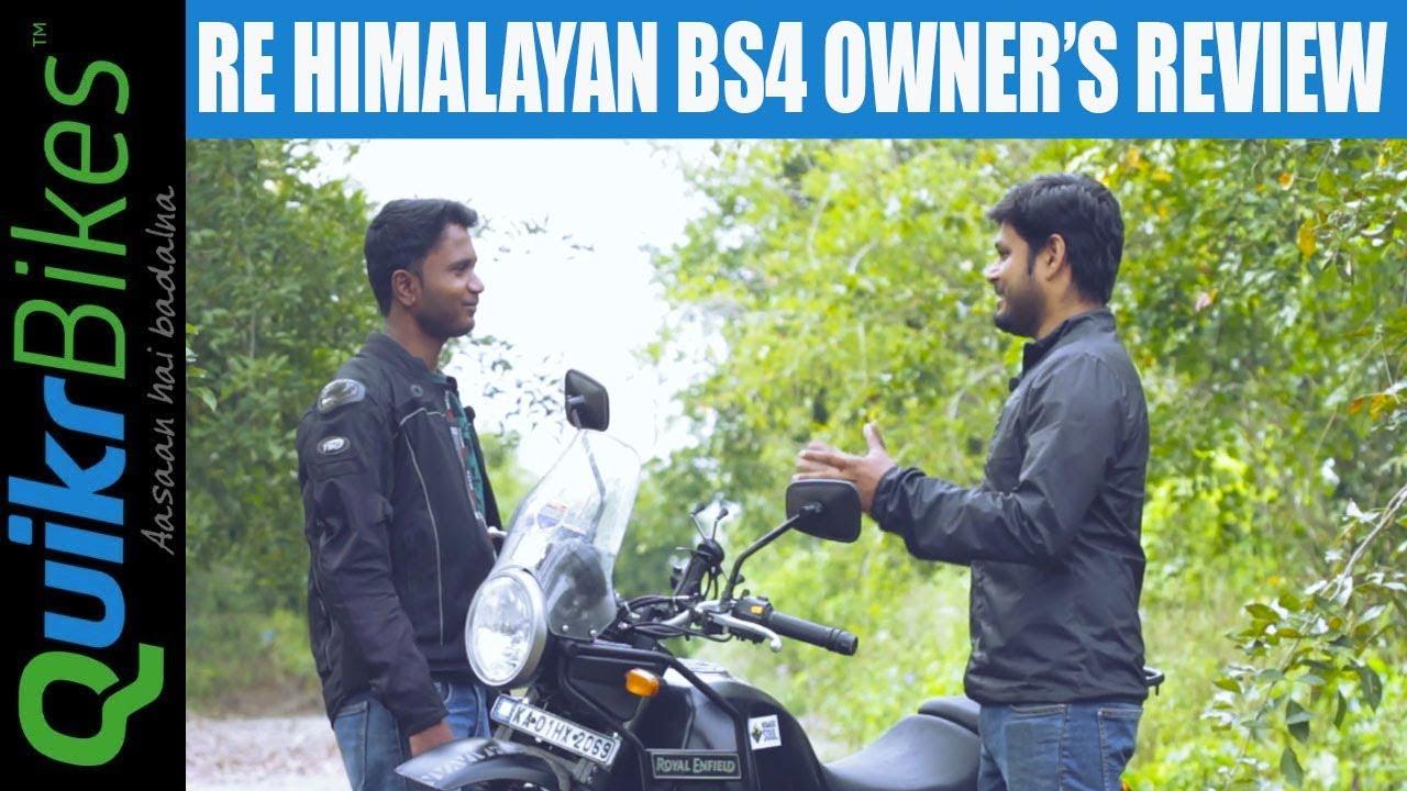 Royal Enfield Himalayan Bs4 Long Term Ownership Review Youtube