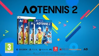 AO Tennis 2 - Career Mode Story Element - Thoughts
