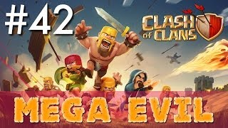 Clash of Clans - Single Player #42: Mega Evil | Minimalist Army Playthrough