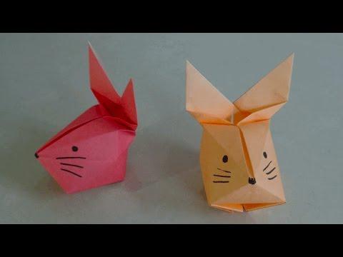 OrigamiRabbit Face 3D