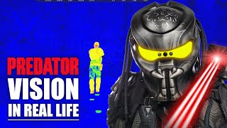 Thermal Vision Helmet! (PREDATOR SUIT BUILD)