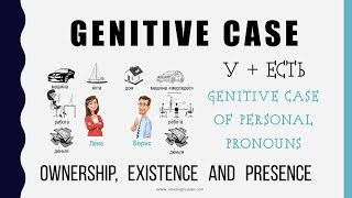 Beginning Russian: Genitive Case-1: Personal Pronouns with У+ ЕСТЬ