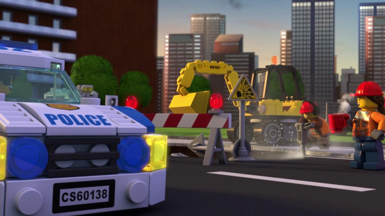 Lego City Police Uciekający Złoczyńcy Część 1 Youtube