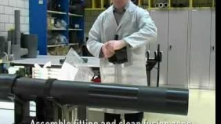 видео Станок для сварки ПНД труб: аппарат для пайки полиэтиленовых труб, виды оборудования