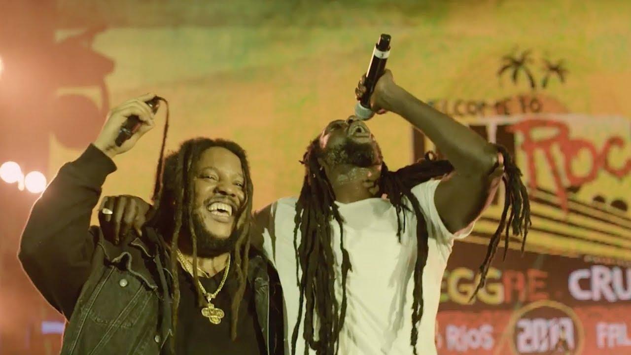 "Welcome To Jamrock Reggae Cruise 2019 - Buju Banton & Stephen Marley (""Duppy Conqueror"" Live Cover)"
