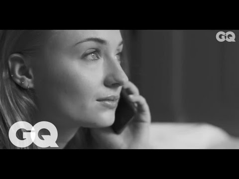 Game of Thrones' Sophie Turner recounts 'The Night Before' | Mr. Burberry | GQ