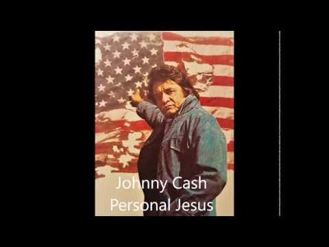 Johnny Cash - Personal Jesus (Guitar Backing Track)