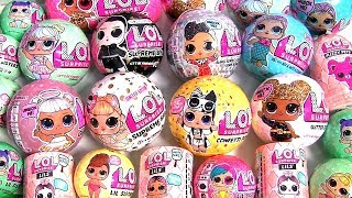 LOL Surprise Dolls LIMITED EDITION GLITTER Confetti Pop LOL Series toys review