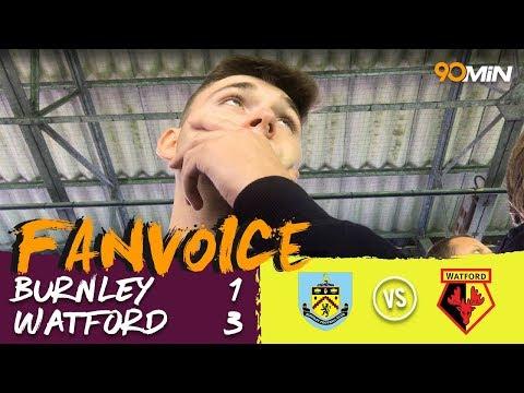 Gray, Deeney & Hughes give Watford the away win! | Burnley 1-3 Watford | 90min FanVoice