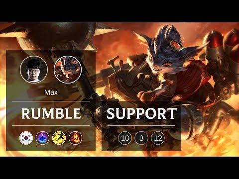Rumble Support vs Soraka - KR Grandmaster Patch 9.3