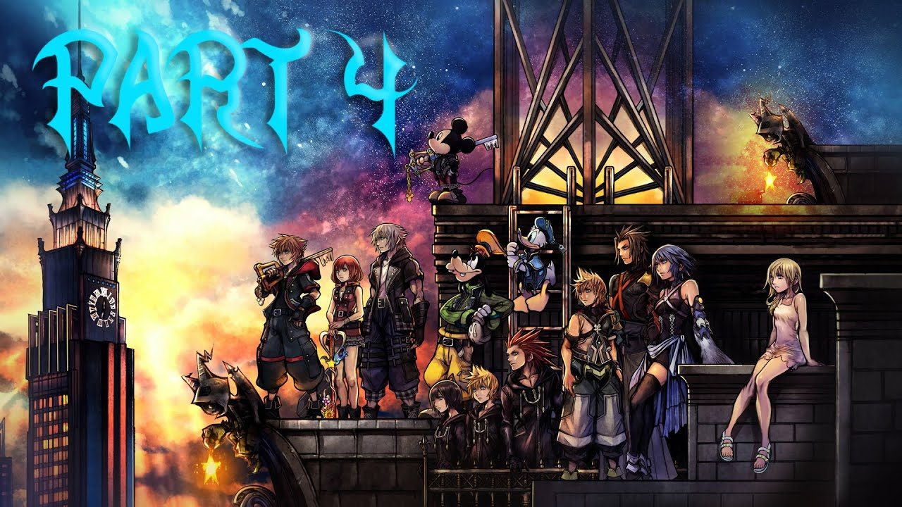 It's So Beautiful We have reached Olympus Kingdom Hearts III: Part 4 YouTube