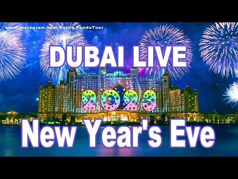 Dubai Fireworks | Burj Khalifa hotel | Burj Al-Arab New Year's Fireworks | show Dubai 2019 | Дубай