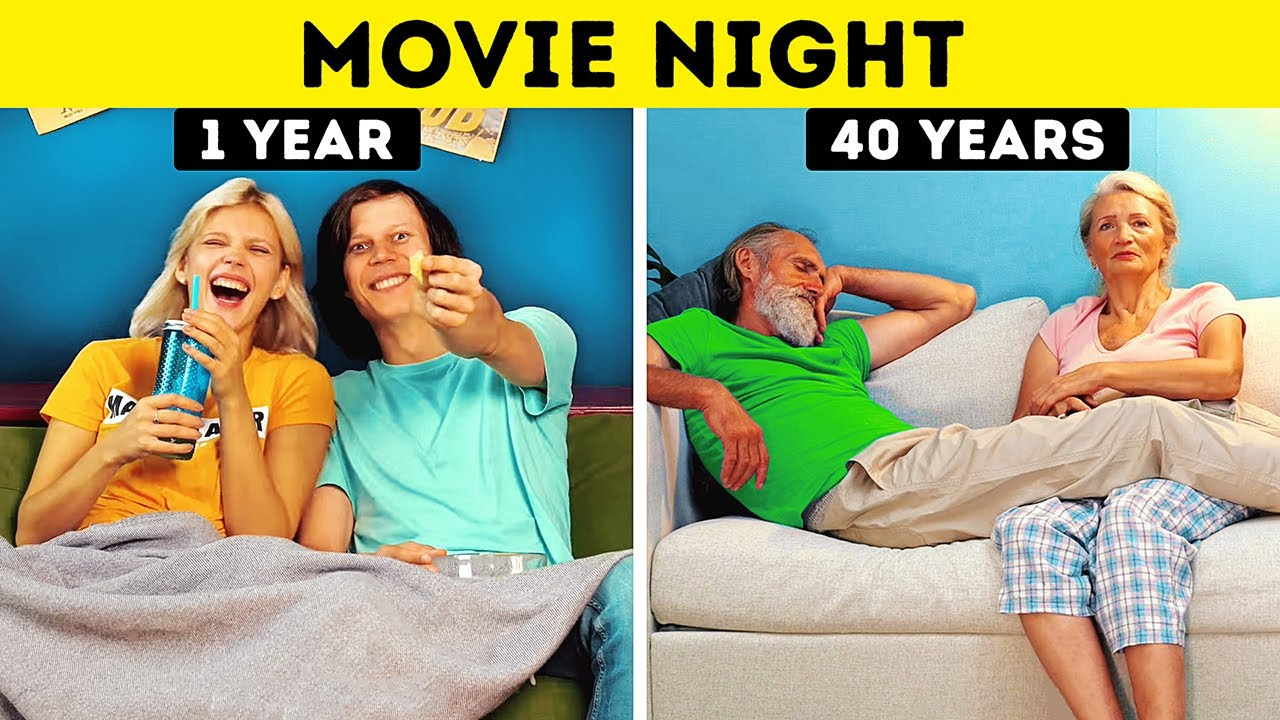 YOUR RELATIONSHIPS 1 YEAR VS 40 YEARS