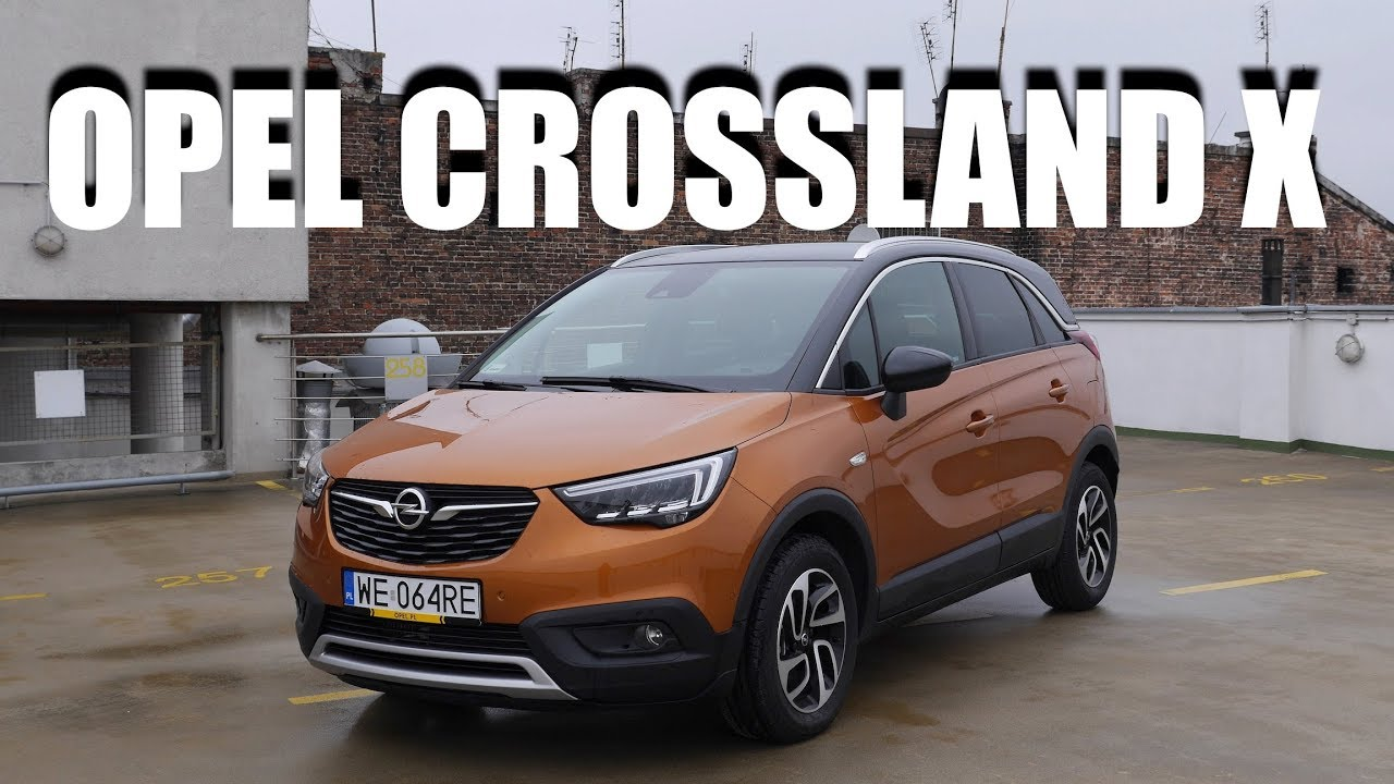 opel crossland x pl test i jazda pr bna youtube. Black Bedroom Furniture Sets. Home Design Ideas