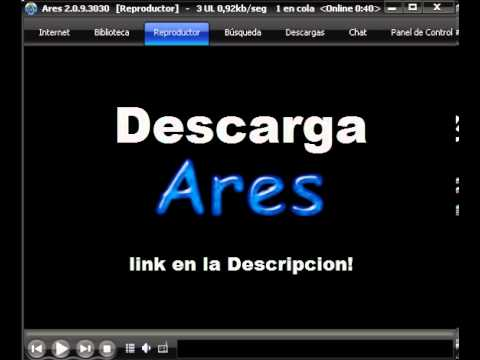 Descargar ares en espa ol y gratis youtube for Descarga are