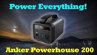 Anker Powerhouse 200 Review - Portable Power Nirvana