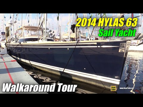 2014 Hylas 63 Sailing Yacht - Deck and Interior Walkaround - 2015 Annapolis Sail Boat Show