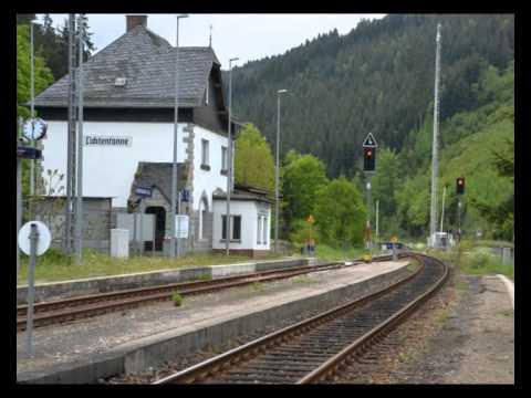 Bahnhof Lichtentanne - Sormitztal Thüringen 2013 - YouTube