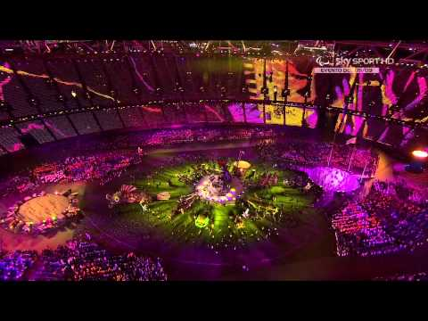 Coldplay feat. Rihanna, Jay-Z - Closing Ceremony of the London 2012 Paralympic Games.1080p (HD)
