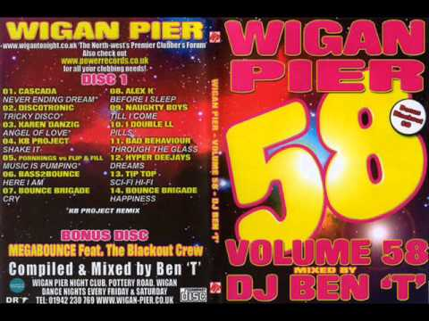 Wigan Pier Volume 58 - Bonus disc - Megabounce ft Blackout crew