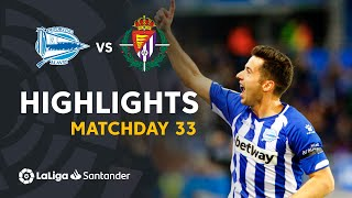 Highlights Deportivo Alaves vs Real Valladolid (2-2)