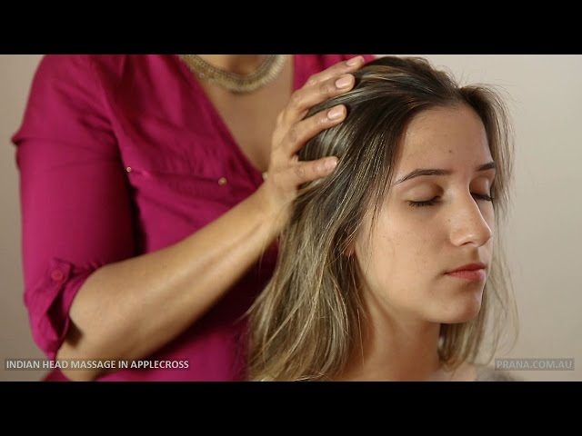 Indian Head Massage in Applecross, Perth by Prana