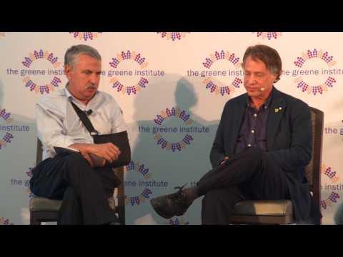 Ray Kurzweil and Thomas Friedman Interview at #MTD17
