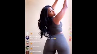 Megan Thee Stallion dances to Captain Hook on Instagram Live!