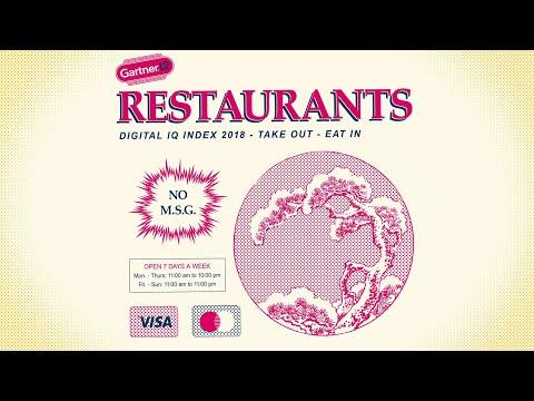 Gartner L2 Digital IQ Index: Top Restaurant Brands in Digital 2018