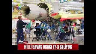 Milli savaş uçağı TF-K geliyor