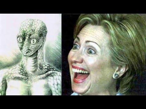 proof hillary clinton is a humanoid reptilian shapeshifter reptilians