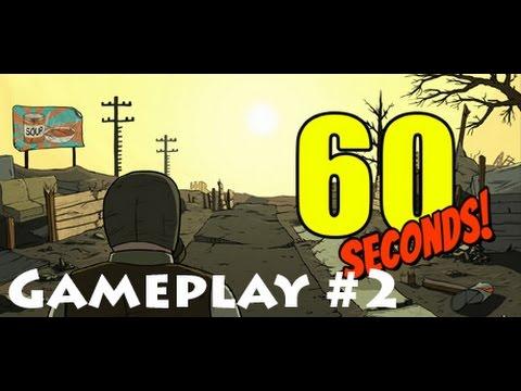 I survived 49 days on 60 Seconds: Die for Valhalla Gameplay #2