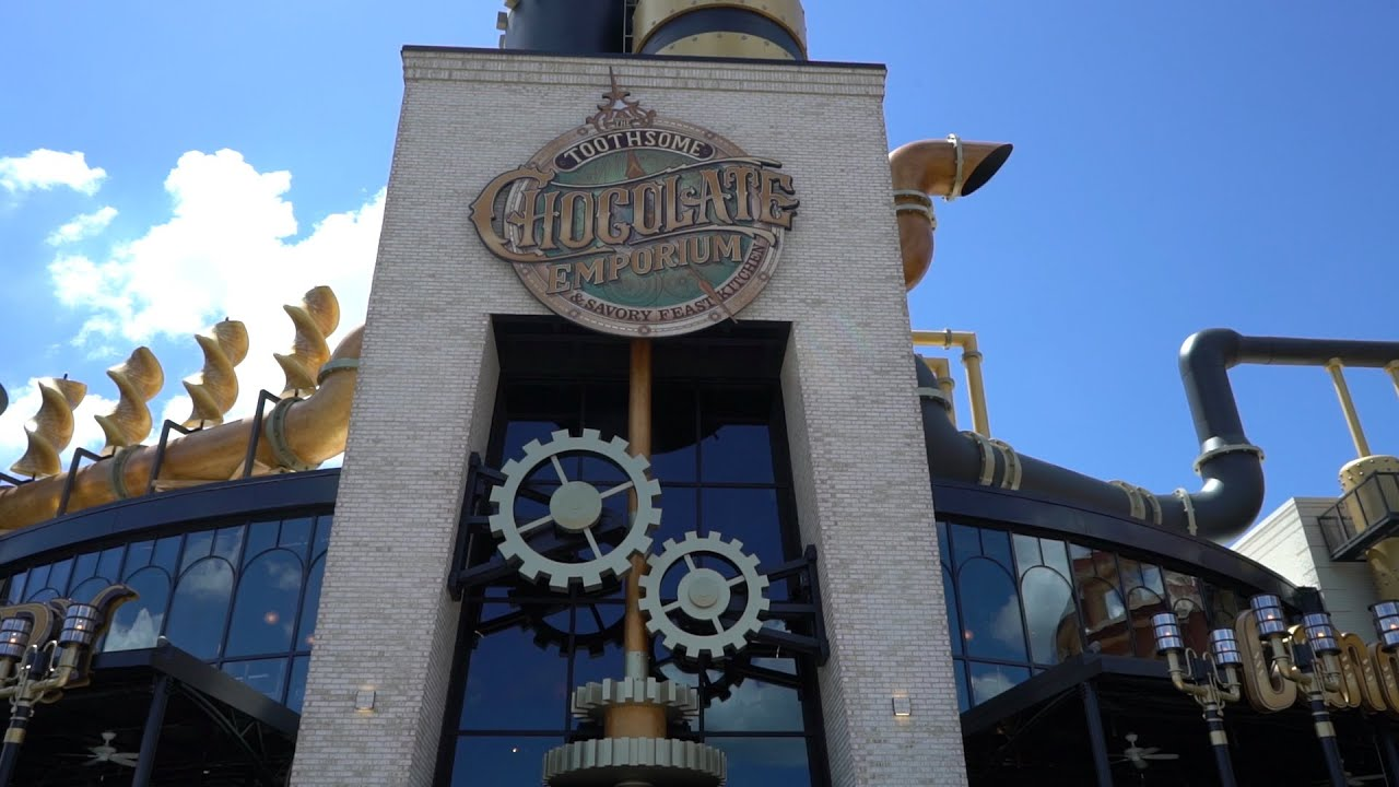 Toothsome Chocolate Emporium U0026 Savory Feast Kitchen Soft Opens | Tour U0026  Review   YouTube