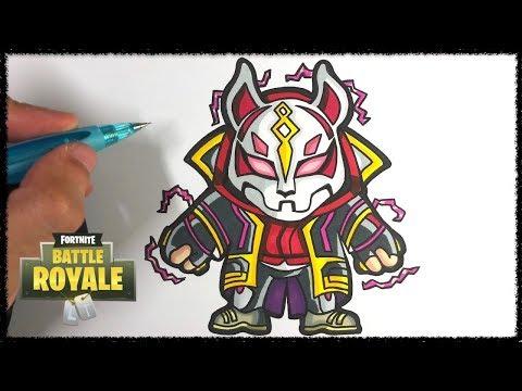 Comment Dessiner Le Nomade Max Fortnite Tuto Youtube
