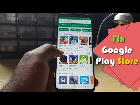 Google Play Store is not working on your Android device Fix-6 Solutionss