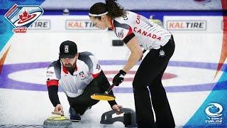 Latvia v Canada - Quarter-final - World Mixed Doubles Curling Championship 2017