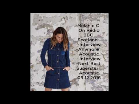 Melanie C On BBC Radio Scotland - Interview & Performances 09.12.2019