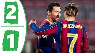 Барселона Атлетик Бильбао 2 1 Обзор Матча Чемпионата Испании 31 01 2021 HD