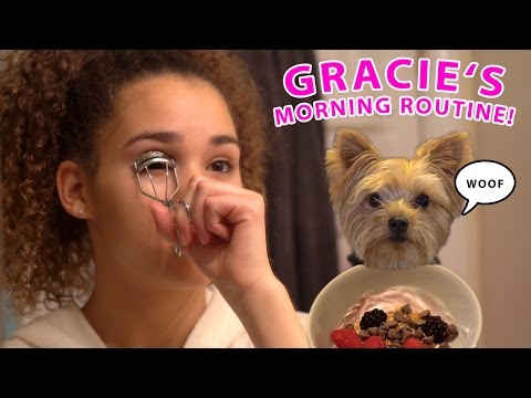 Thumbnail: Gracie's Morning Routine (Weekend Edition!)