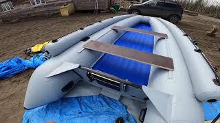 Лодка «Выдра 430 Jet» сборка.