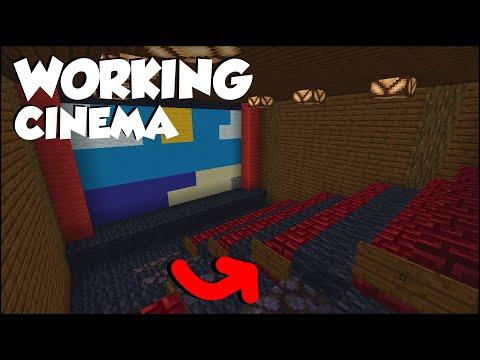 Minecraft: 15+ Cinema Build Hacks!