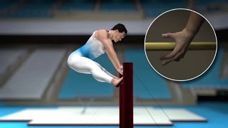 Artistic gymnastics: a feat of strength, flexibility and balance