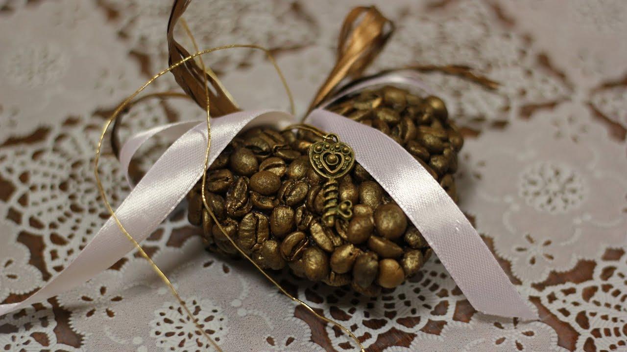 Композиция из кофейных зерен. Мастер-класс. Composition of coffee .