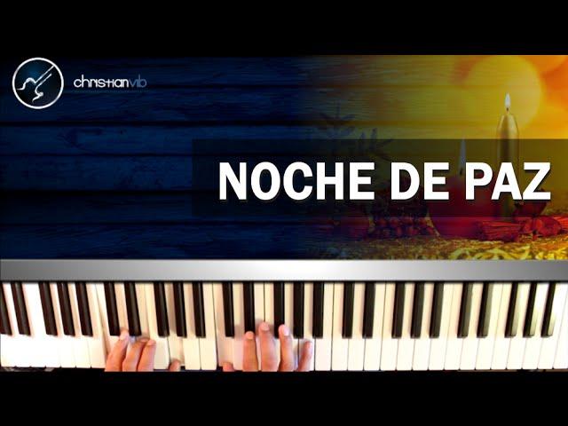 Cómo tocar el Villancico Noche de Paz en Piano (HD) Tutorial Completo - Christianvib